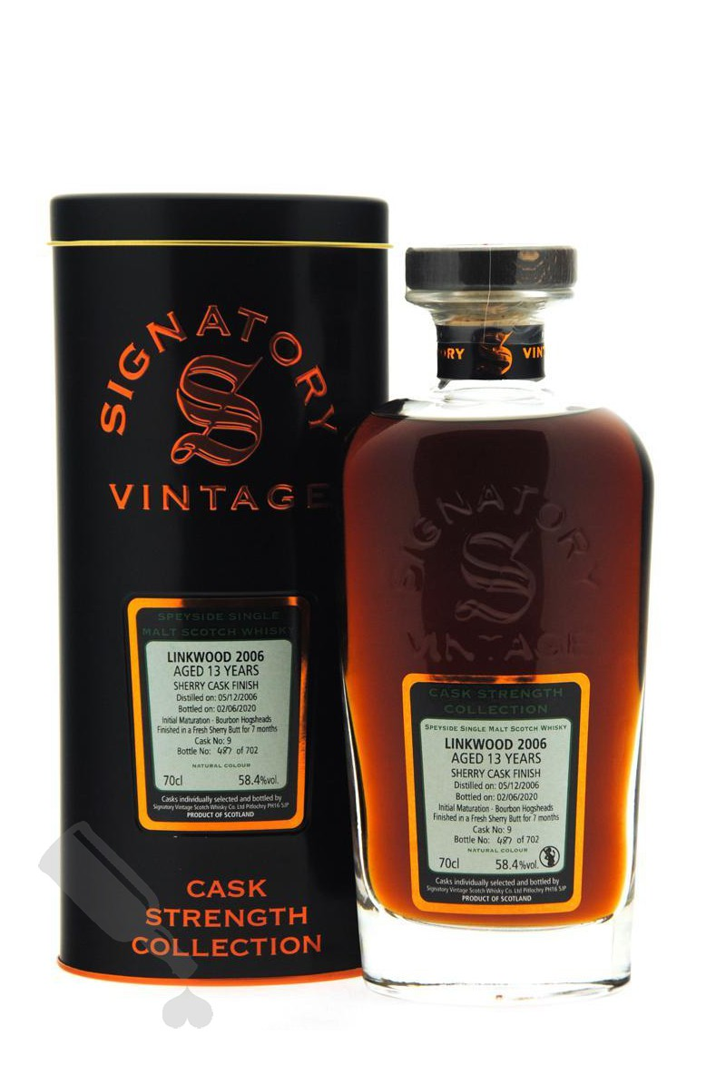 Linkwood 13 years 2006 - 2020 #9 Sherry Cask Finish