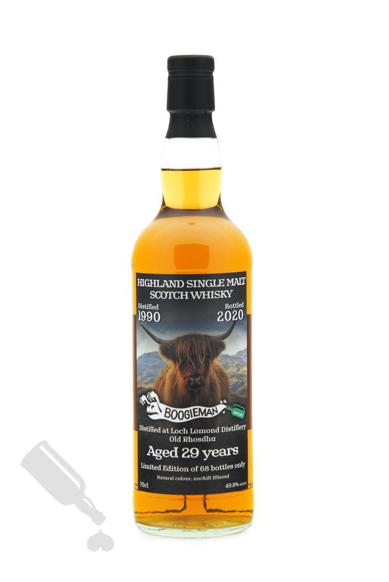 "Old Rhosdhu 29 years 1990 - 2020 Single Cask ""The Scottish Highlander"""