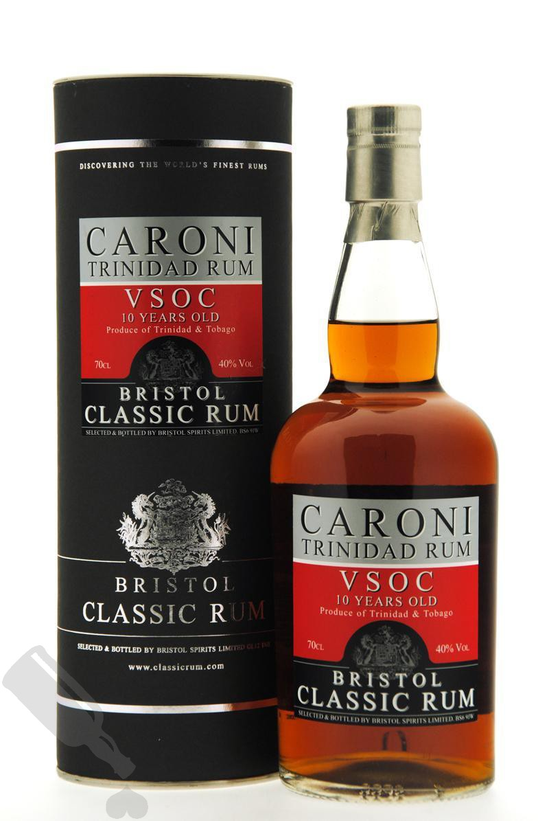 Caroni 10 years VSOC Bristol Classic Rum