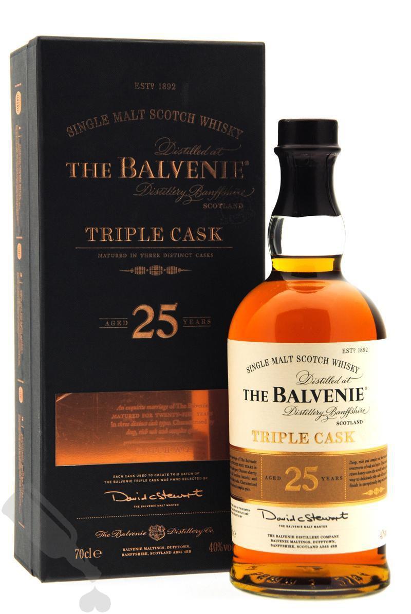 Balvenie 25 years Triple Cask Batch no.1