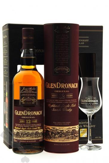 GlenDronach 12 years Original - Giftpack