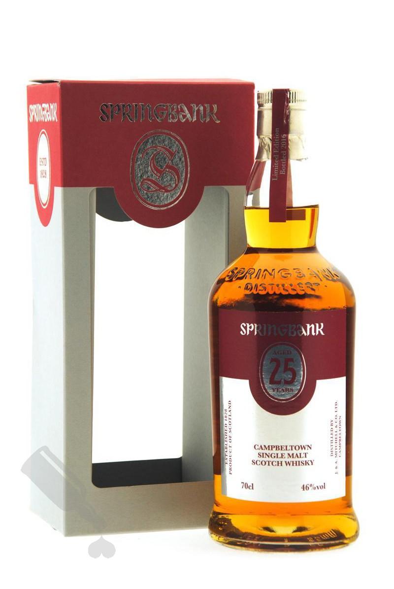 Springbank 25 years 2016 Edition
