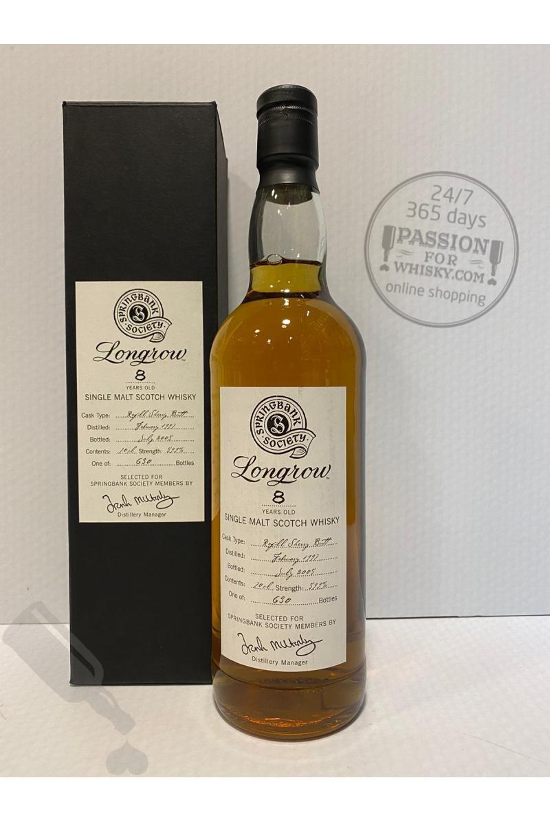 Longrow 8 years 1997 - 2005 Society Bottling