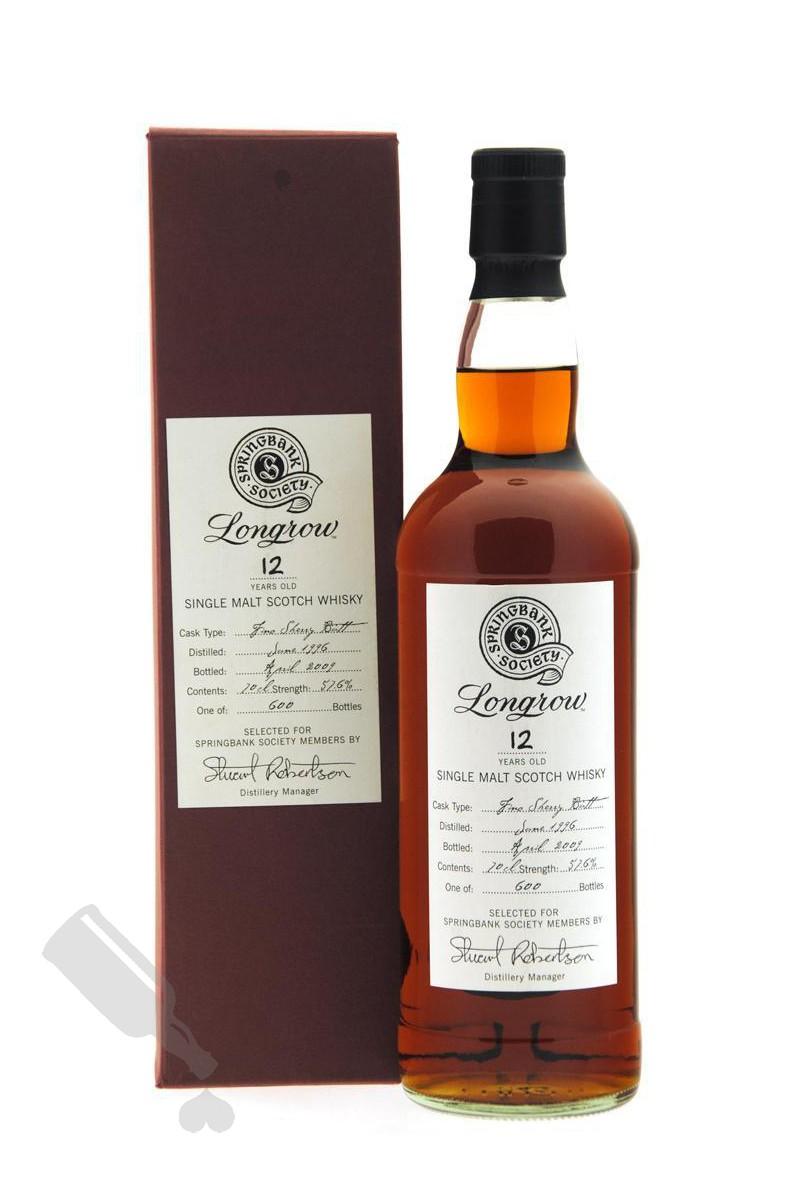 Longrow 12 years 1996 - 2009 Society Bottling