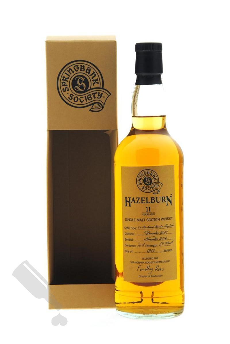 Hazelburn 11 years 2007 - 2019 Society Bottling