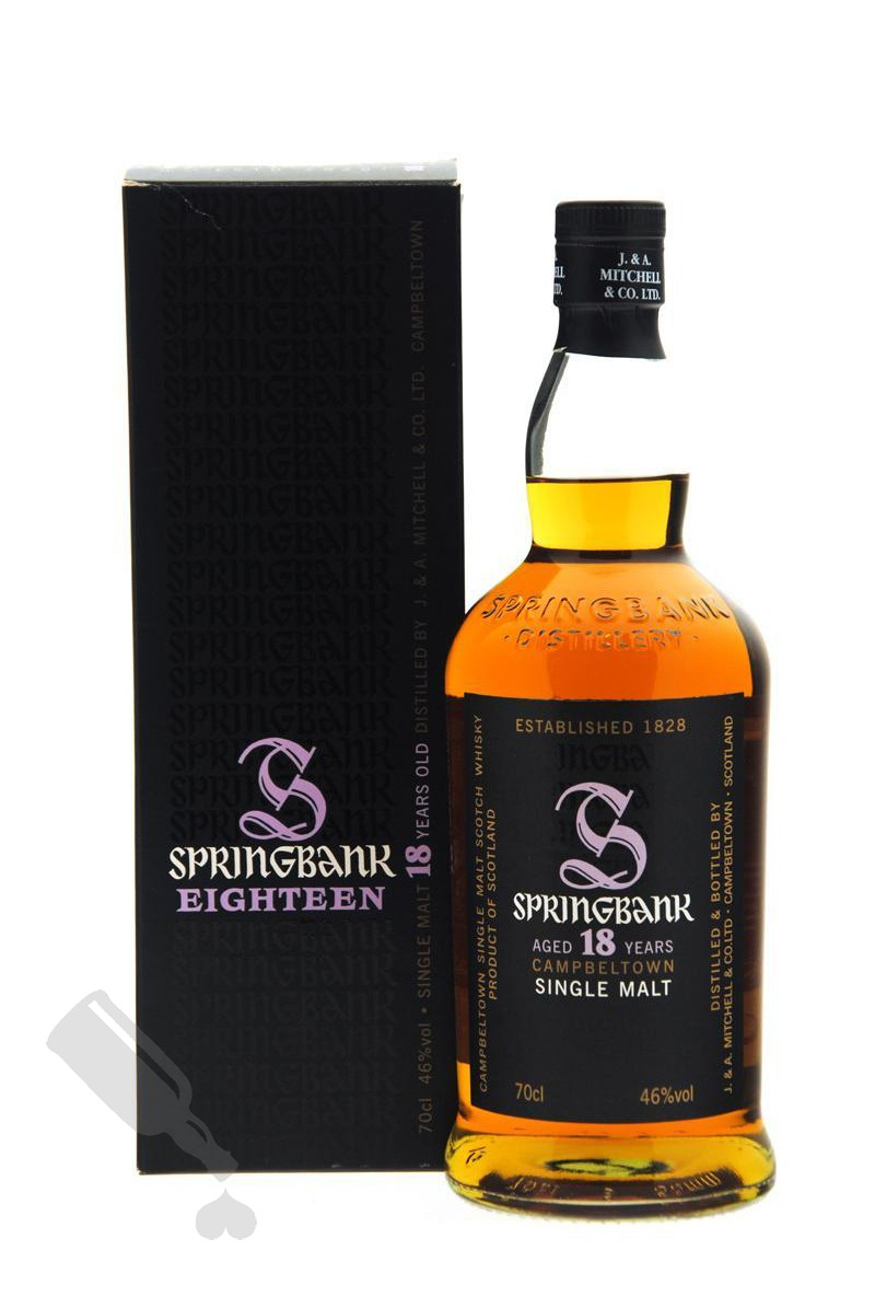 Springbank 18 years 2012 Edition