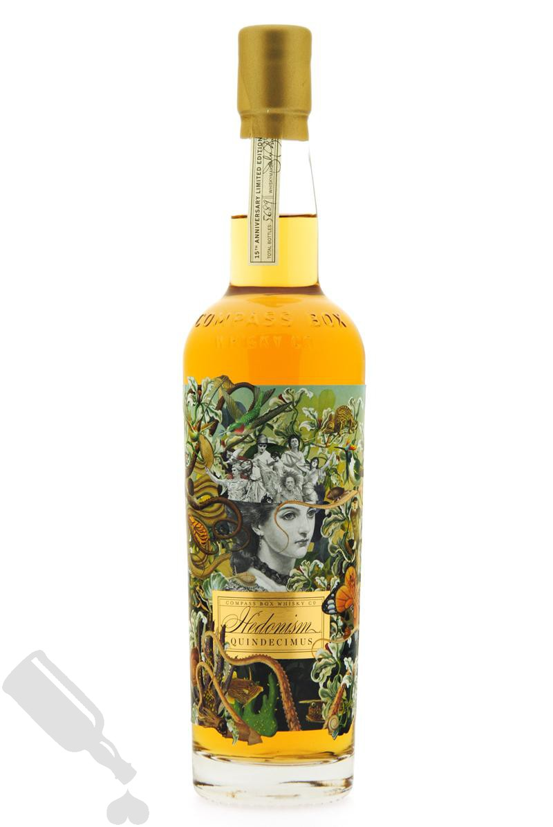 Compass Box Hedonism Quindecimus 15th Anniversary Limited Edition