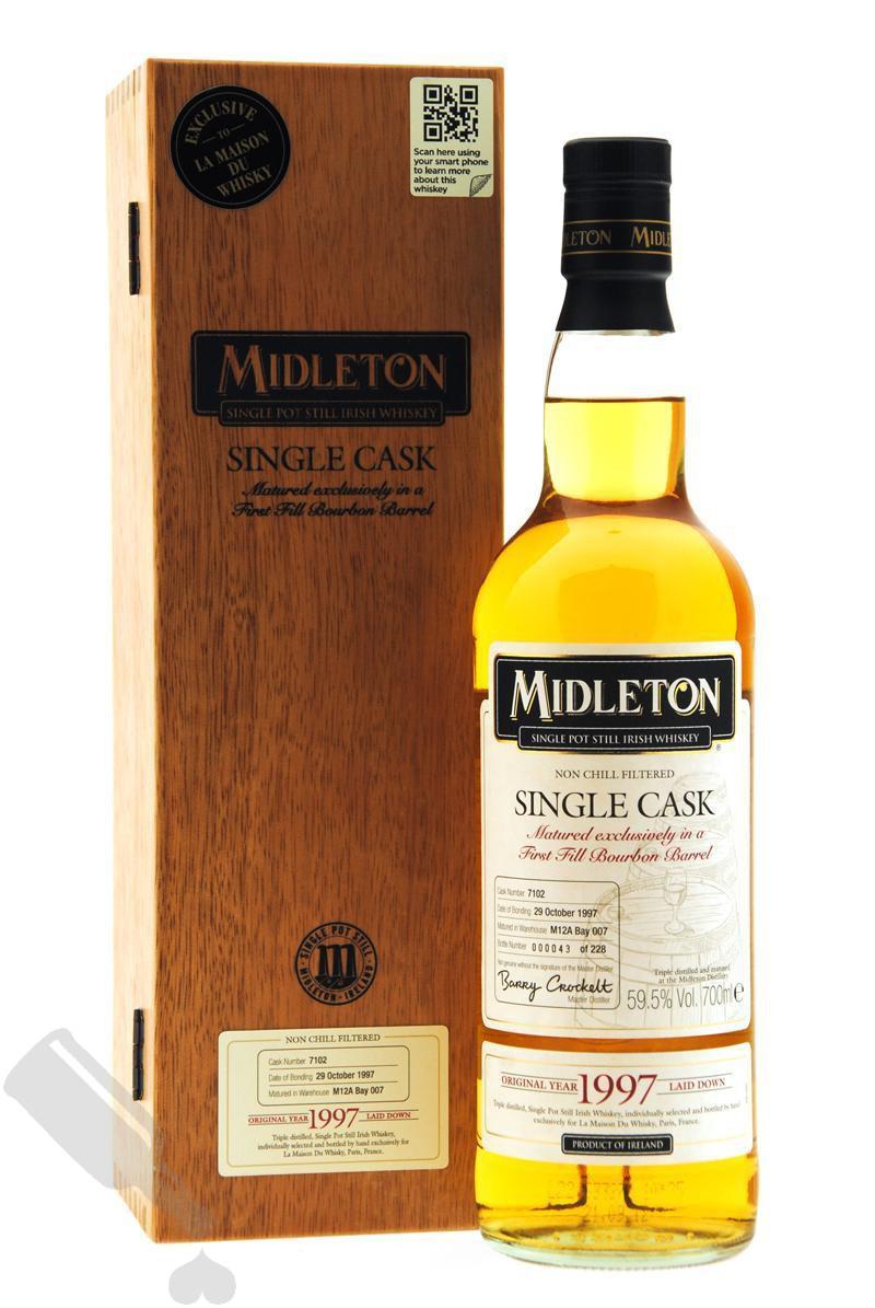 Midleton 1997 Single Cask #7102 for LMDW