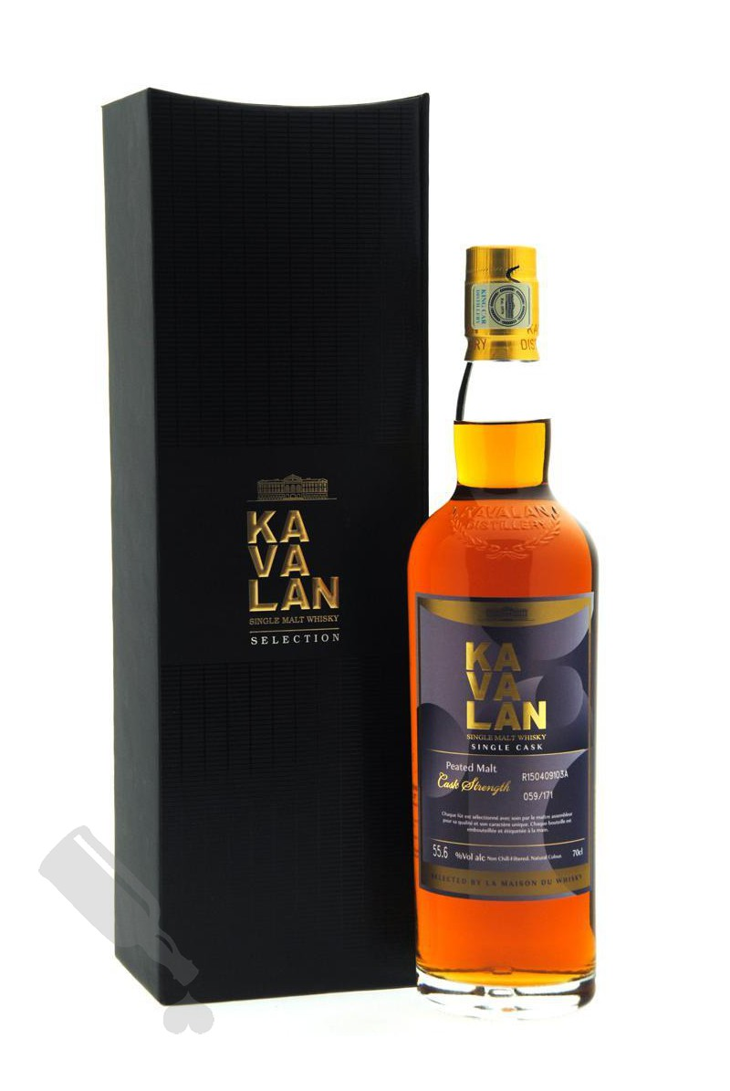 Kavalan Single Cask Peated Malt Selected By La Maison Du Whisky