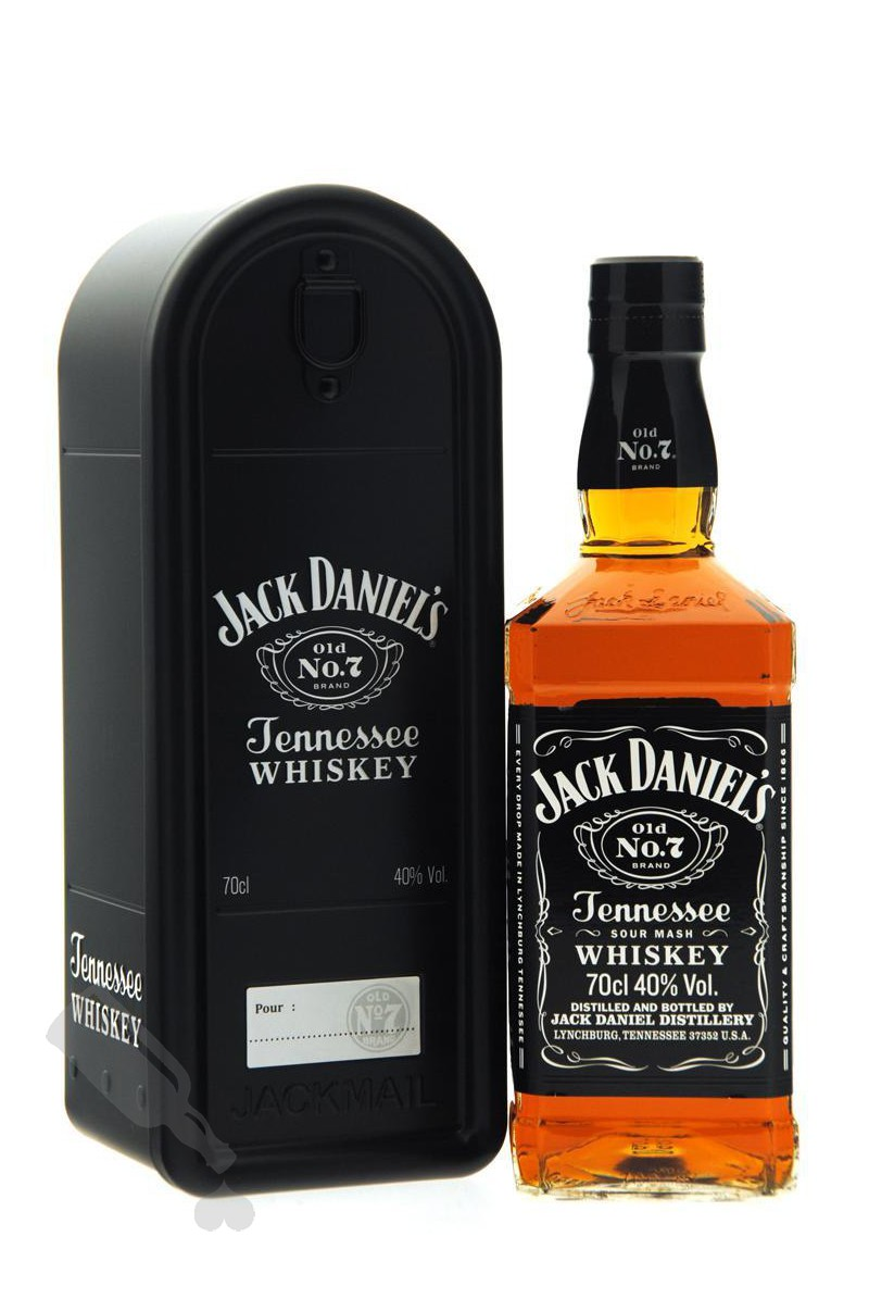 Jack Daniel's Old No.7 - Mailbox