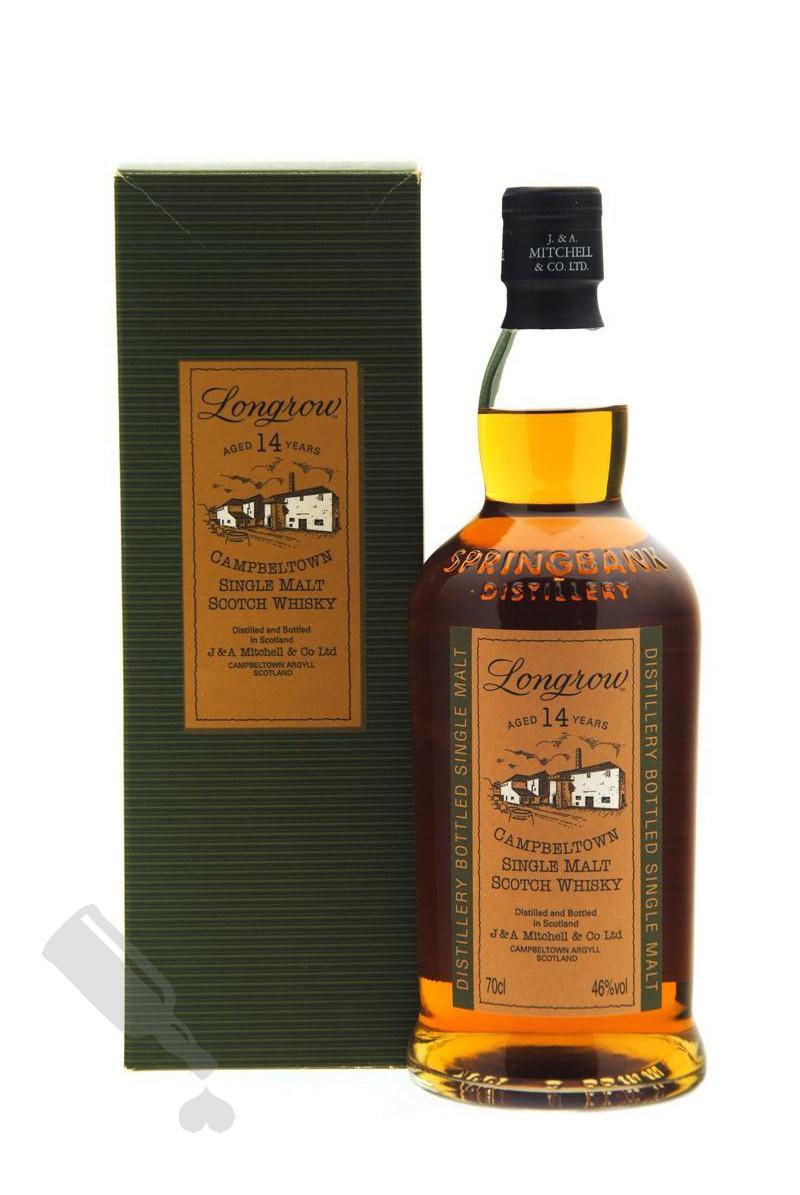 Longrow 14 years - Old Bottling