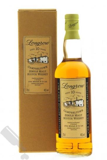 Longrow 10 years - Old Bottling