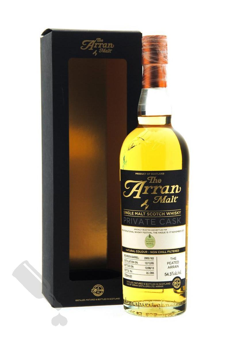 Arran 2005 - 2013 #163 for The International Whisky Festival The Hague 2013