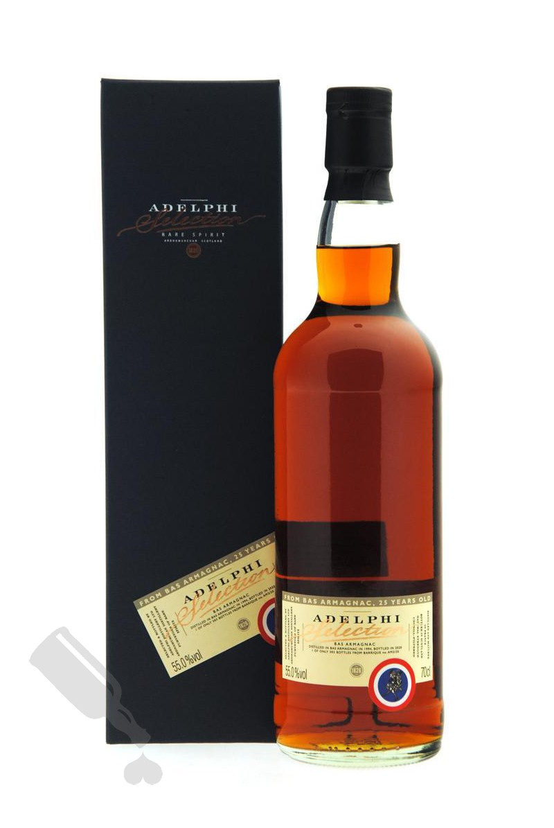 Adelphi's Bas Armagnac 25 years 1994 - 2020 #AM2/20