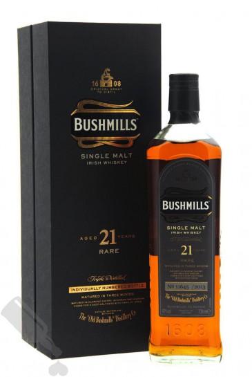 Bushmills 21 years Rare