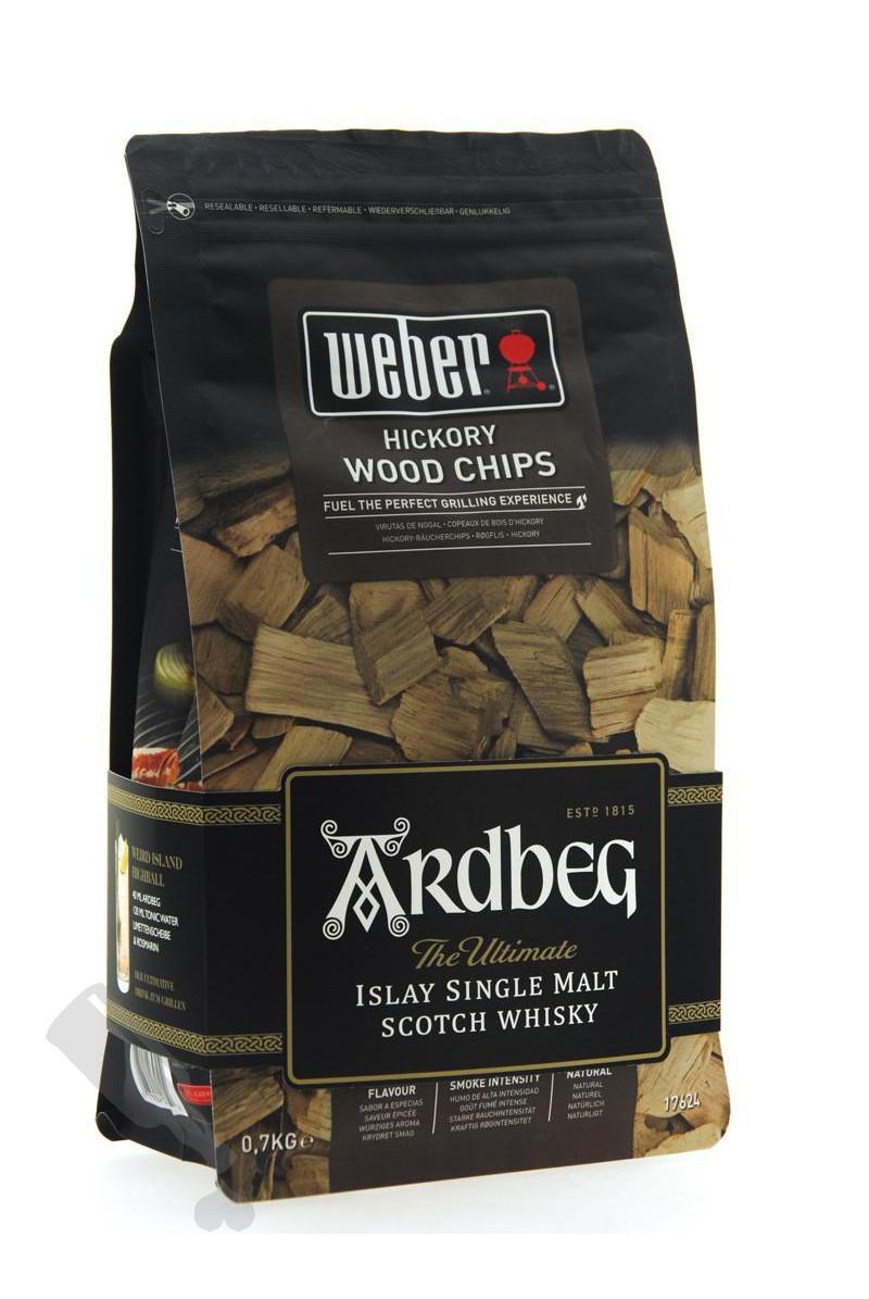 Weber Ardbeg Hickory Wood Chips