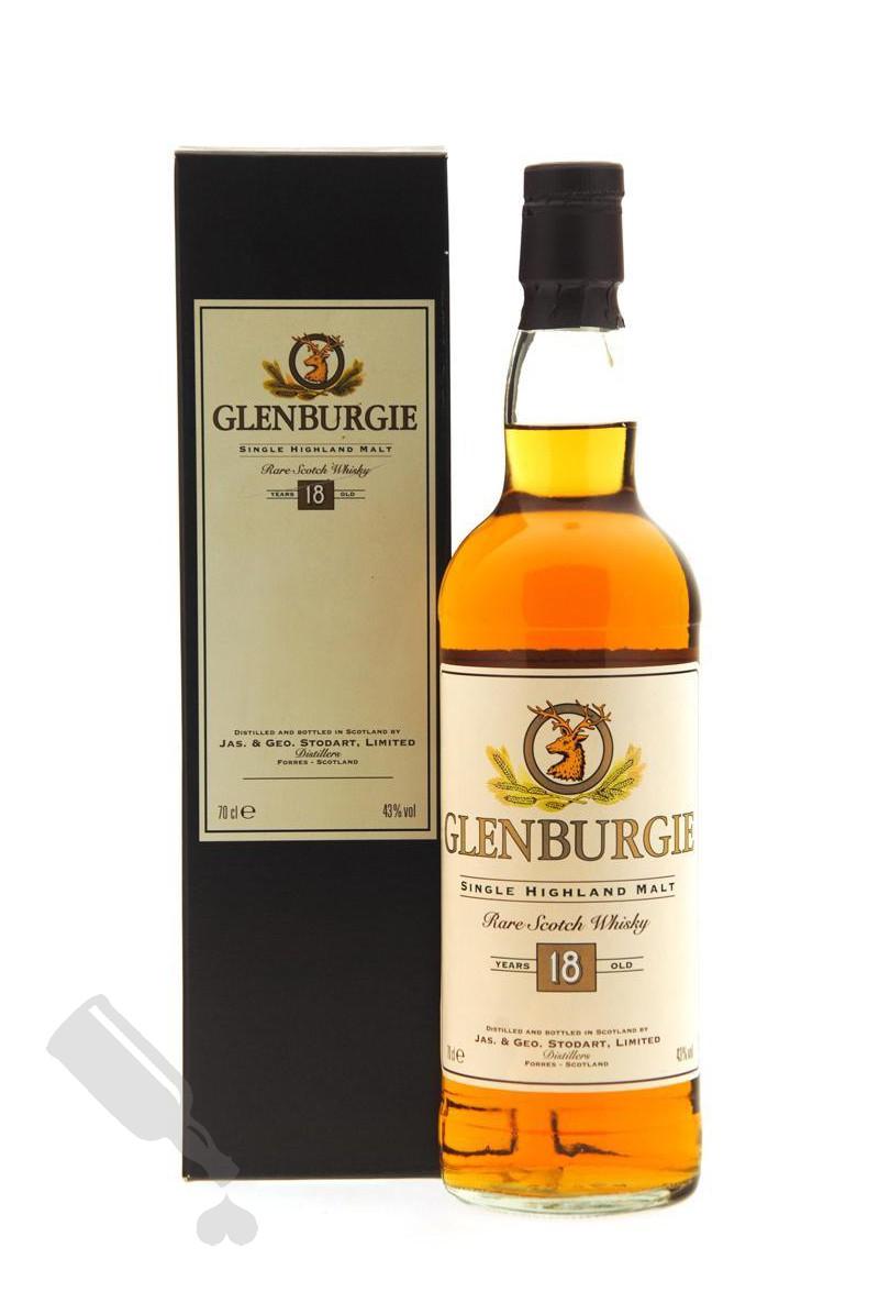 Glenburgie 18 years - Old Bottling