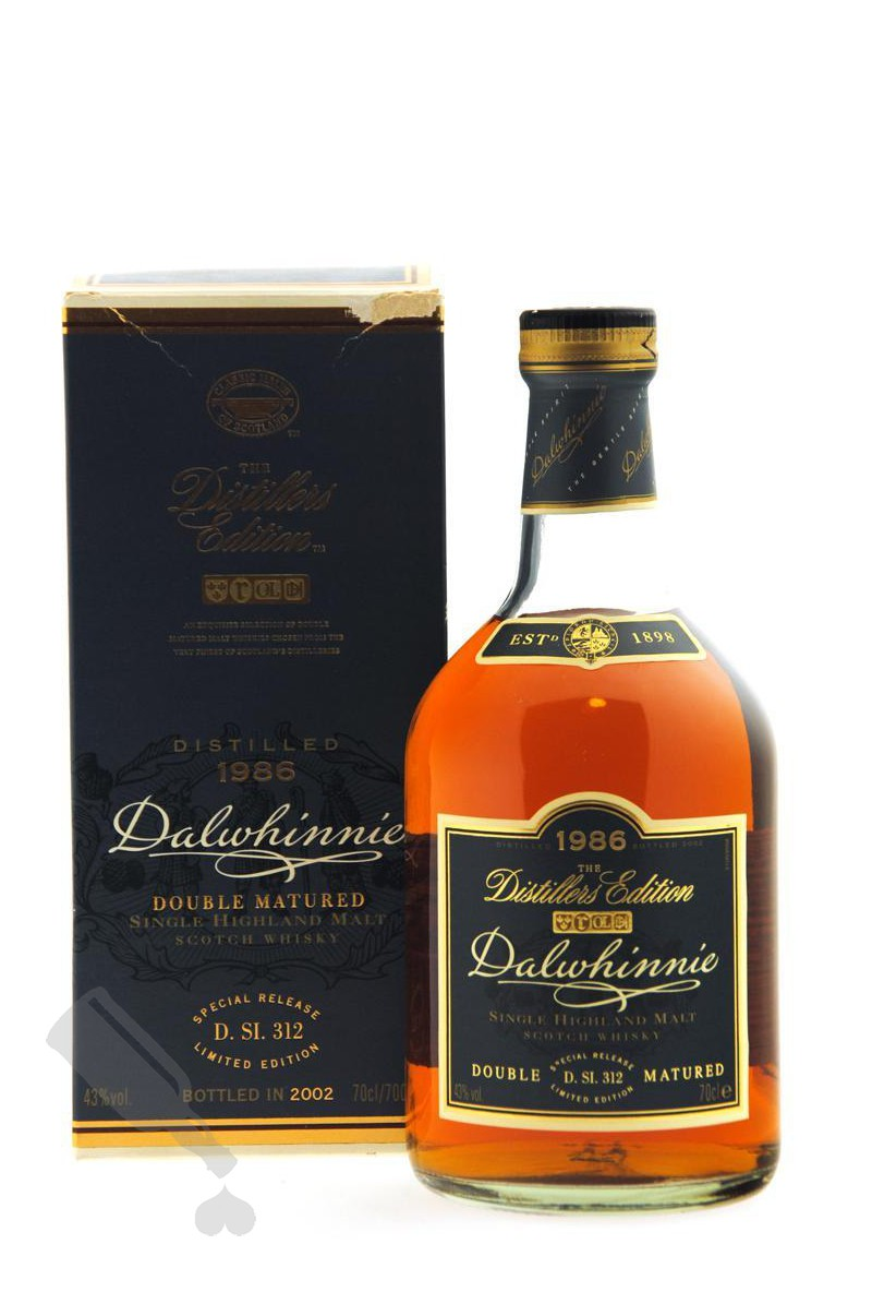 Dalwhinnie 1986 - 2002 The Distillers Edition