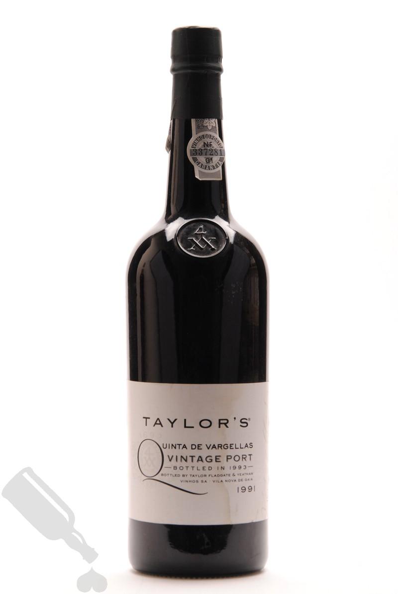 Taylor's Vintage 1991 Quinta De Vargellas