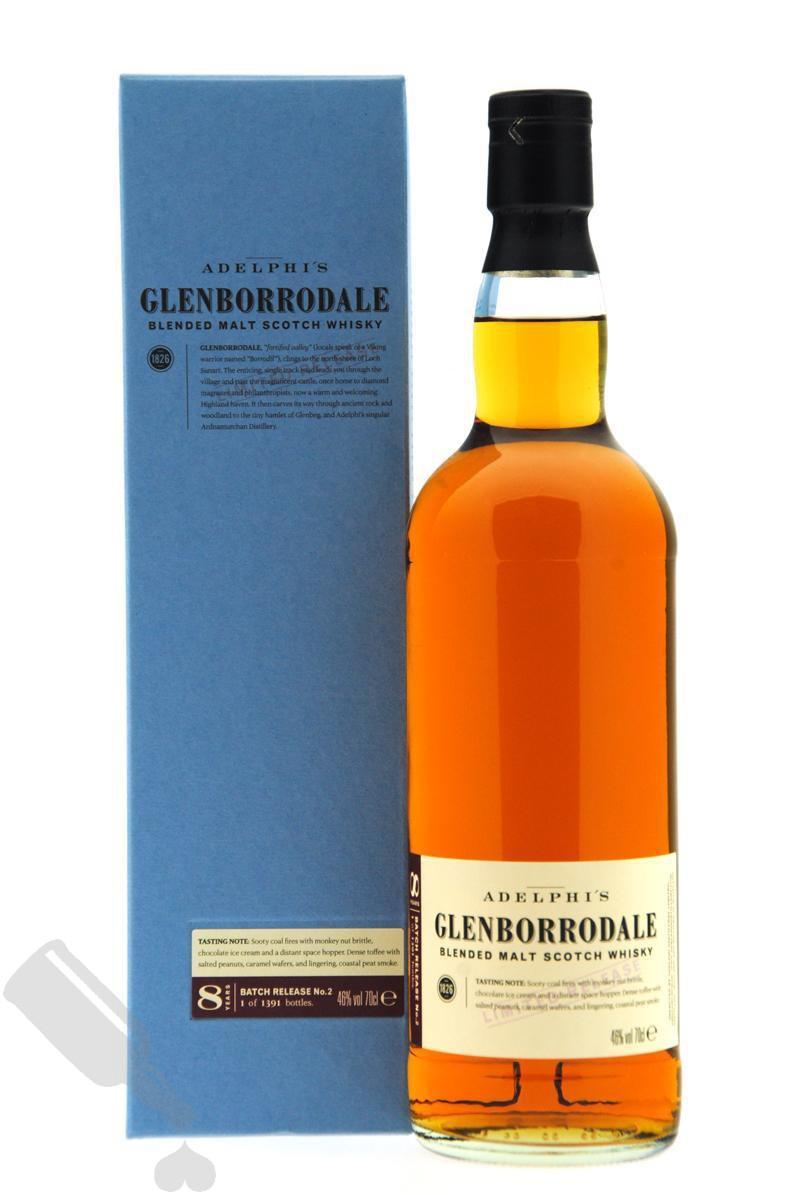 Glenborrodale 8 years Batch Release no.2