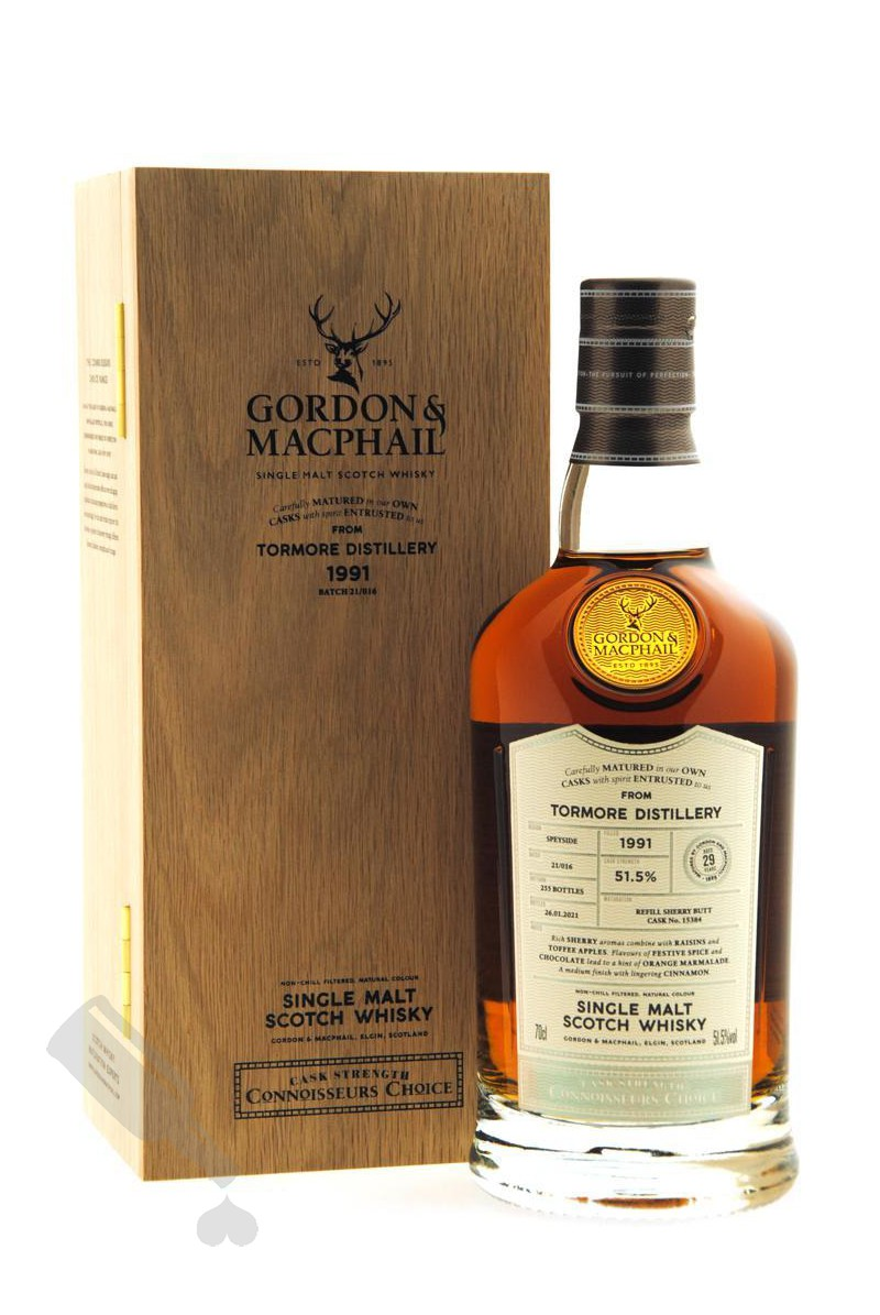 Tormore 29 years 1991 - 2021 #15384 Cask Strength