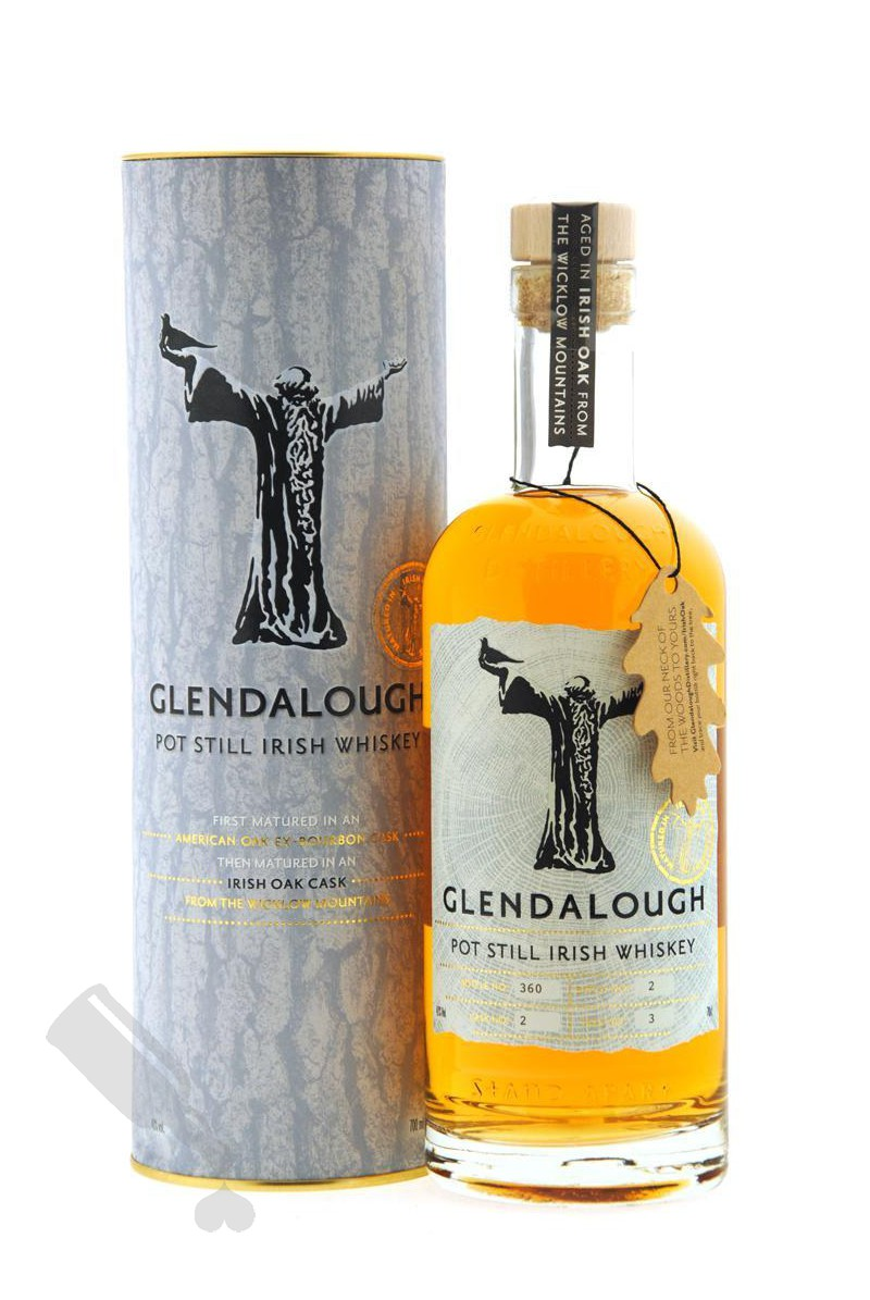 Glendalough Pot Still Irish Whiskey Irish Oak Cask
