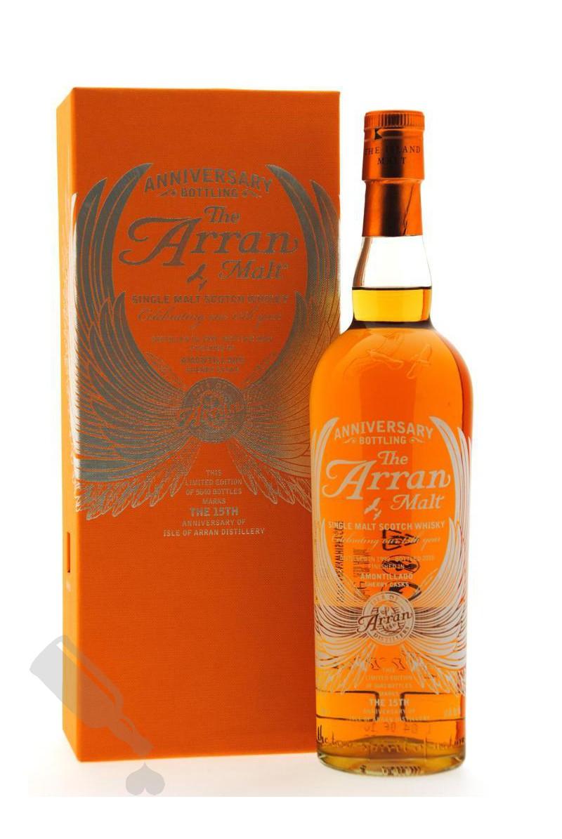 Arran 1999 - 2010 15th Anniversary Bottling