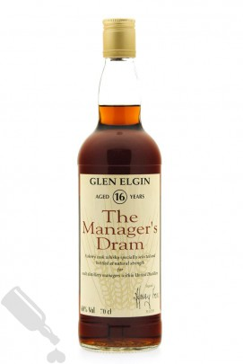 Glen Elgin 16 years 1993 The Manager's Dram