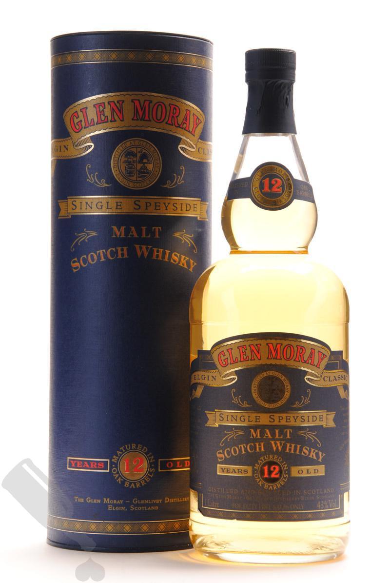 Glen Moray 12 years 100cl - Old Bottling