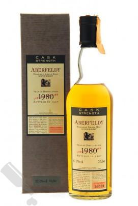 Aberfeldy 1980 - 1997 Cask Strength