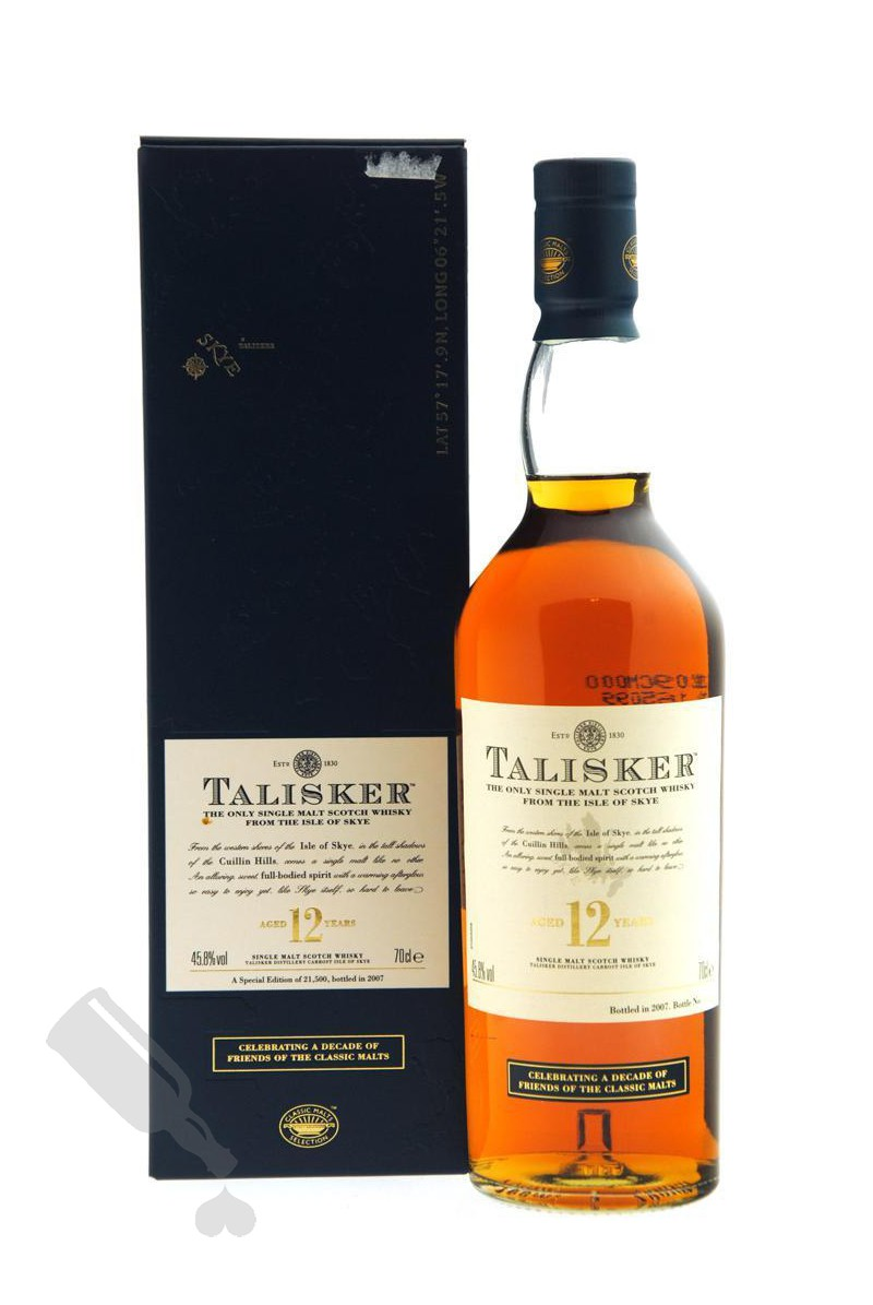 Talisker 12 years 2007 Celebrating a Decade of Friends of the Classic Malts