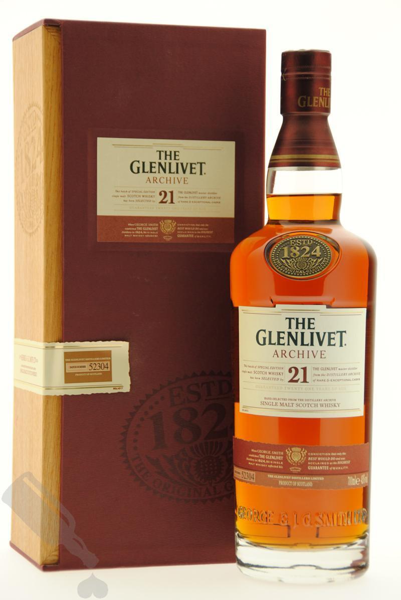 Glenlivet 21 years Archive