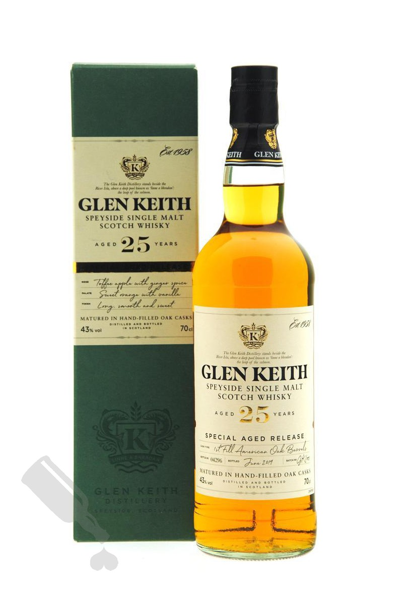 Glen Keith 25 years Special Aged Release