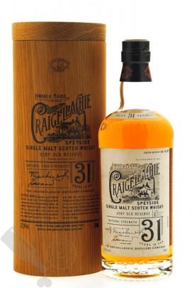 Craigellachie 31 years