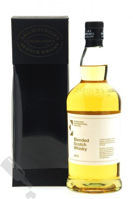 J. & A. Mitchell Blended Scotch Whisky for Edinburgh International Festival 2013