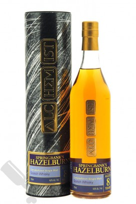 Hazelburn 8 years 1998 - 2007