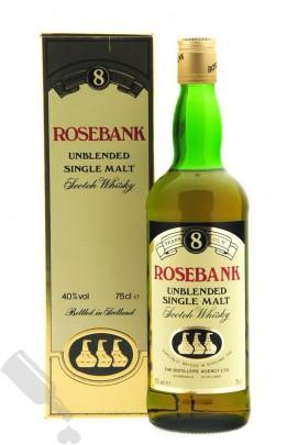 Rosebank 8 years Unblended Single Malt 75cl