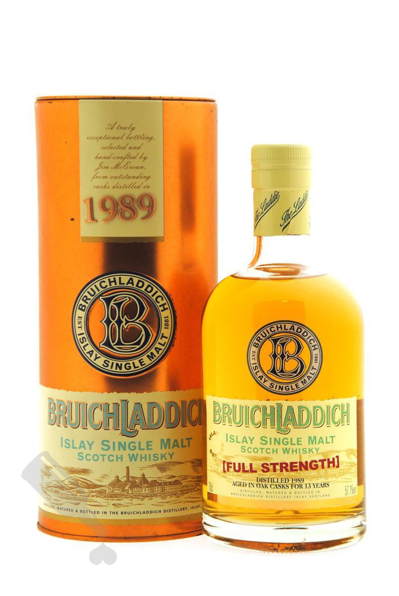 Bruichladdich 13 years 1989 - 2003 Full Strength