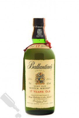 Ballantine's 17 years 75cl - Old Bottling