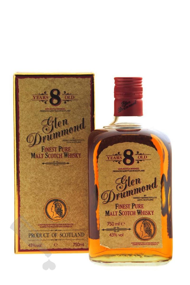 Glen Drummond 8 years 75cl