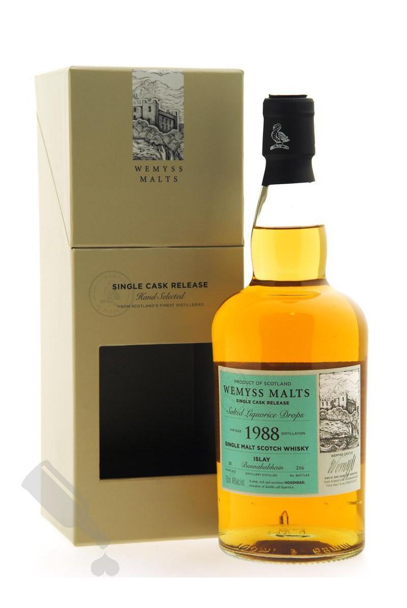 Bunnahabhain 30 years 1988 - 2019 Salted Liquorice Drops