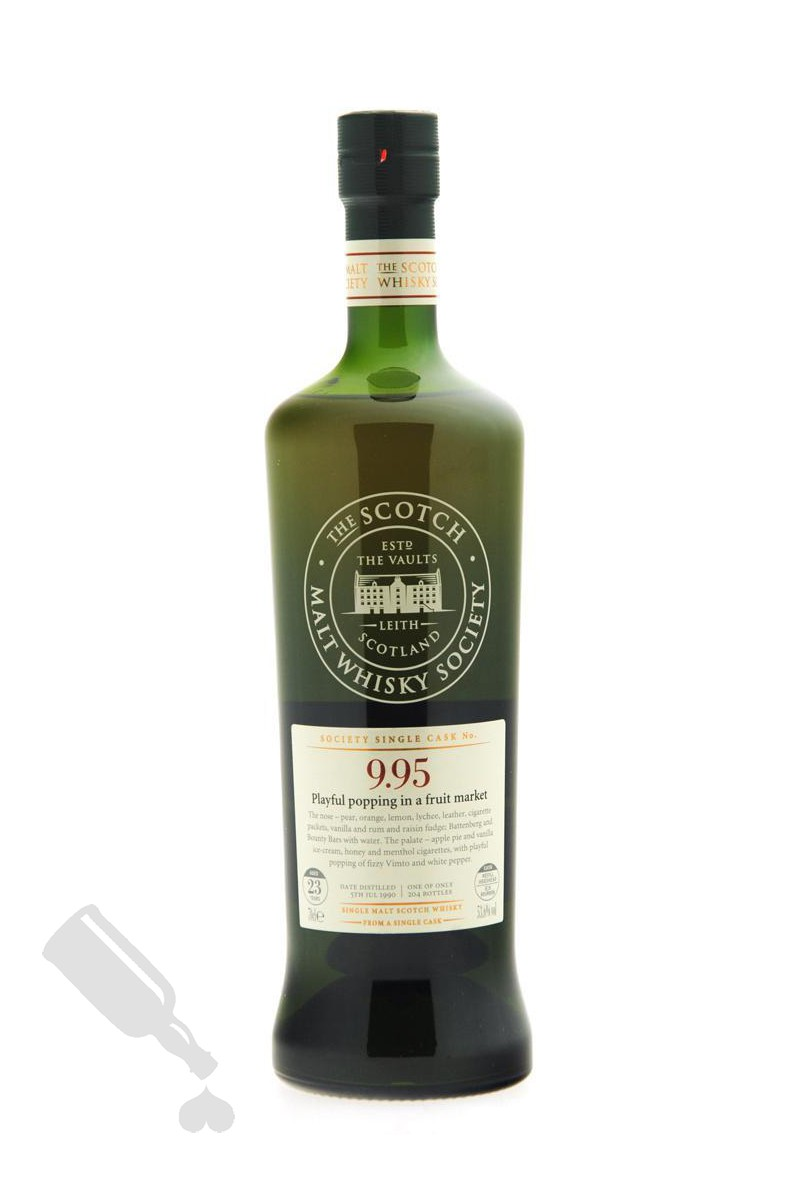 Glen Grant 23 years 1990 SMWS 9.95 'Playful popping in a fruit market'