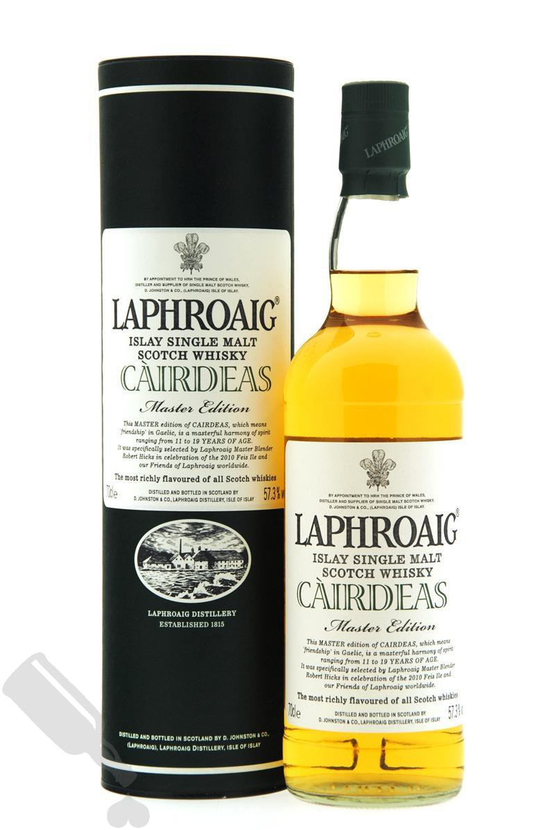 Laphroaig Càirdeas Fèis Ìle 2010 Master Edition
