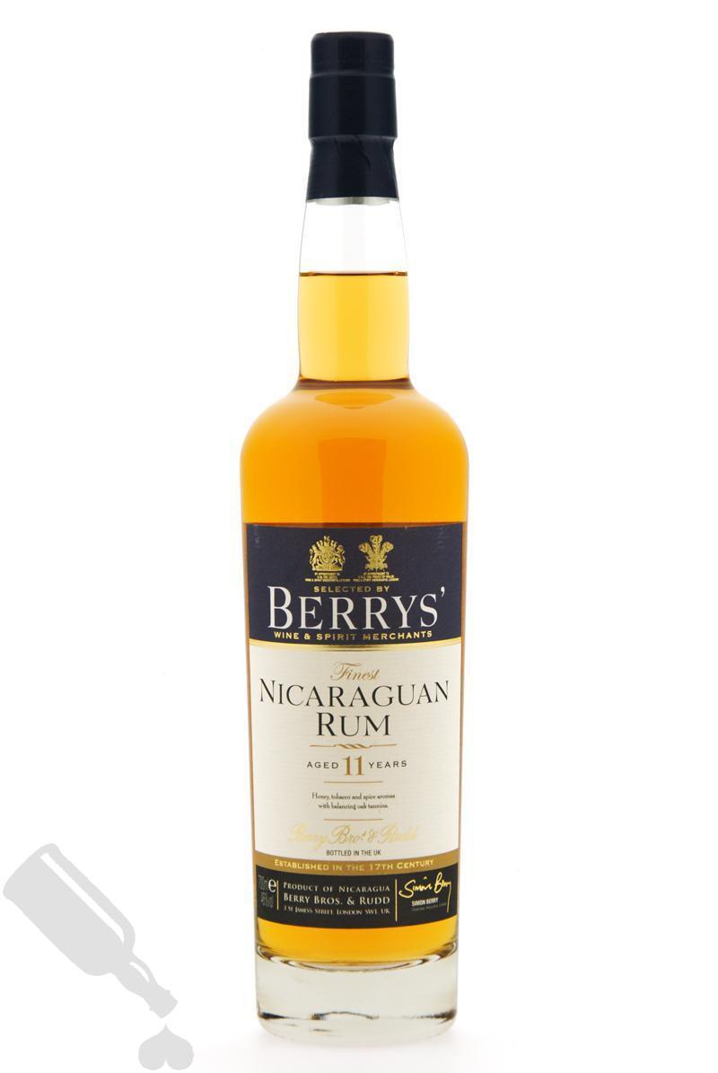 Nicaraguan Rum 11 years 2002 Berrys'