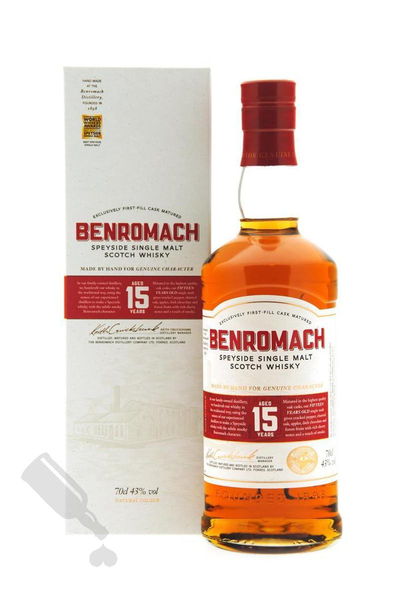Benromach 15 years