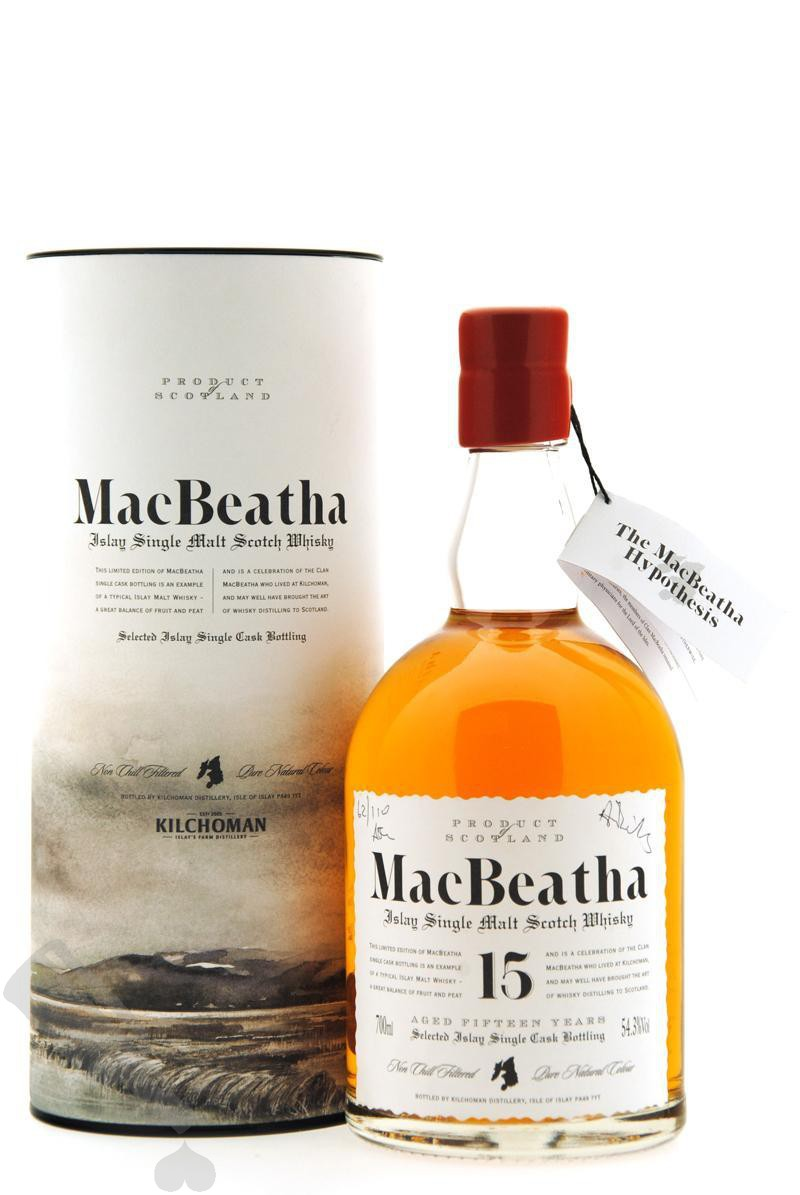 Bowmore 15 years 1992 #3741 MacBeatha First Edition - Feis Ile 2007
