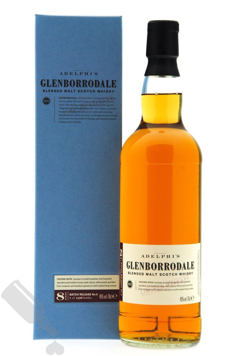 Glenborrodale 8 years Batch Release no.6