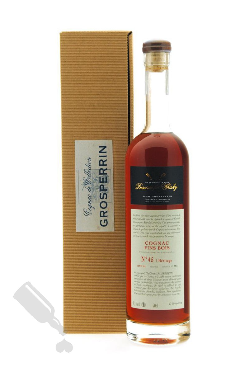 Grosperrin Fins Bois N°45 Héritage pour Passion for Whisky