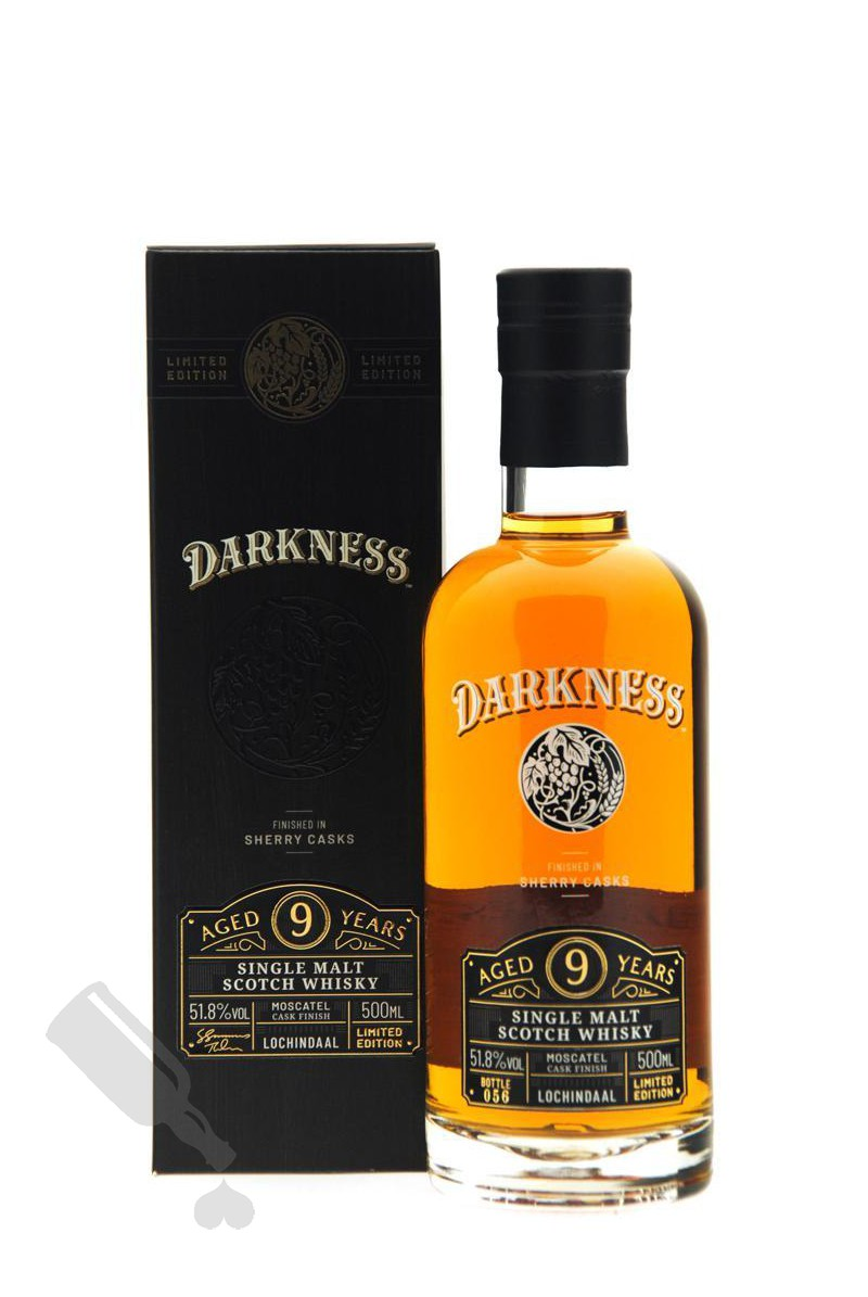 Lochindaal 9 years Moscatel Cask Finish Darkness! 50cl