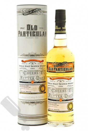 Jura 12 years 2008 - 2021 #DL14616 Cheers To Better Days